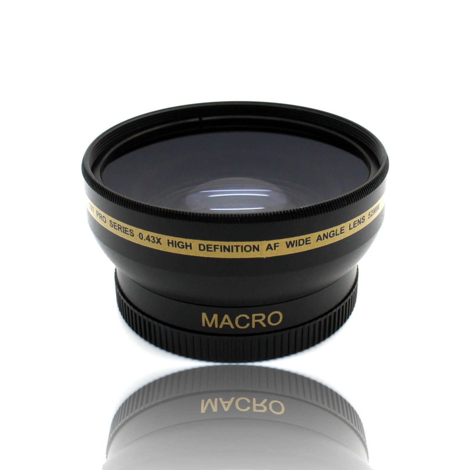 Details about 52MM HD Wide Angle Lens w/ Macro for Nikon 50mm f/1 8D & 35mm  f/1 8G DX Lenses