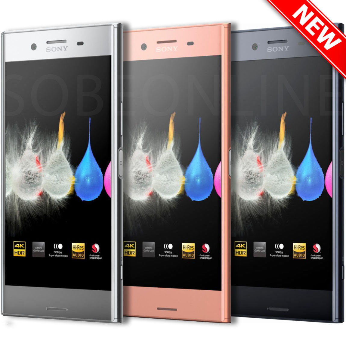 e0712e541cd Details about Sony XPERIA XZ Premium Dual G8142 (FACTORY UNLOCKED) 5.5