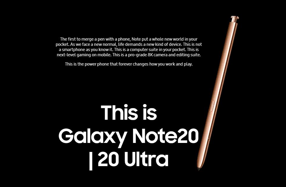 Samsung Galaxy Note 20 256GB 8GB RAM 5G SM-N981B/DS (FACTORY UNLOCKED) 6.7″