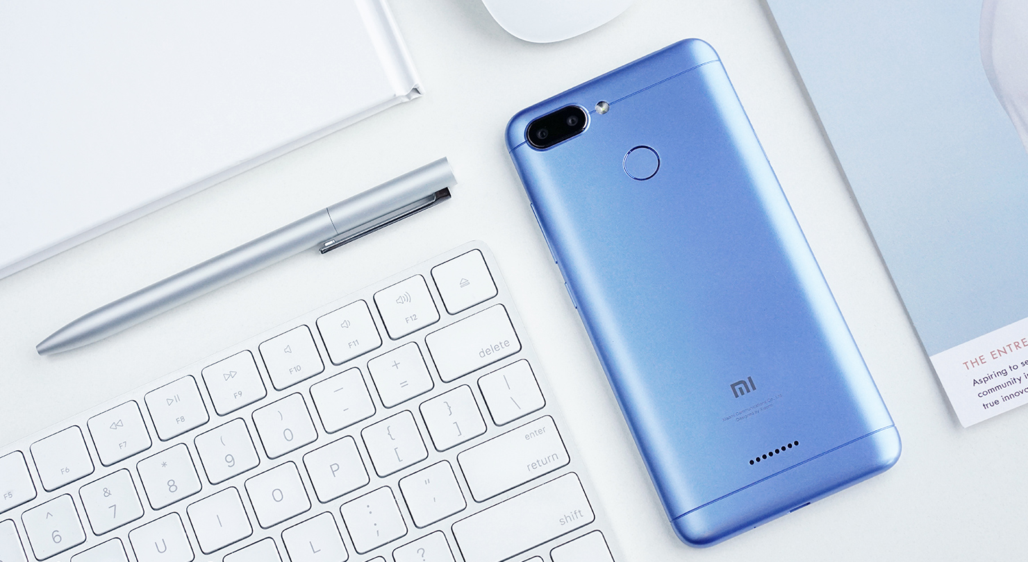 Xiaomi Redmi 6 Dual Sim 32gb Factory Unlocked 4g Lte 545 Gsm 6a Ram 2 Internal 16 4glte With Its Rounded And Smooth Angles The 18 9 Full Screen Hd Measures Covers 805 Of Front Surface
