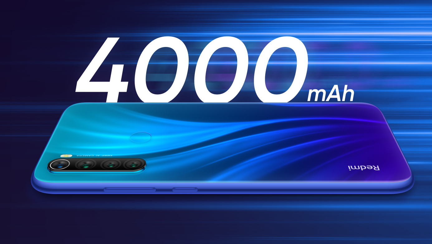 Xiaomi Redmi Note 8 64GB 4GB RAM (FACTORY UNLOCKED) 6.3″ Dual-SIM 48MP (Global)